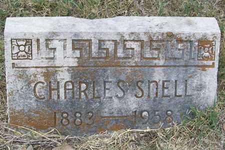 SNELL, CHARLES - Delaware County, Oklahoma | CHARLES SNELL - Oklahoma Gravestone Photos
