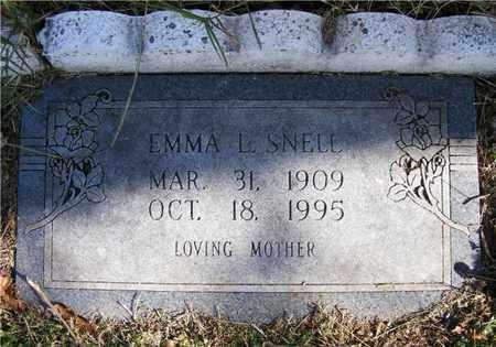 SNELL, EMMA L. - Delaware County, Oklahoma | EMMA L. SNELL - Oklahoma Gravestone Photos