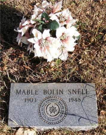 SNELL, MABEL - Delaware County, Oklahoma | MABEL SNELL - Oklahoma Gravestone Photos