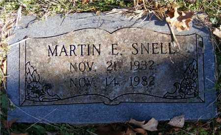 SNELL, MARTIN E. - Delaware County, Oklahoma   MARTIN E. SNELL - Oklahoma Gravestone Photos