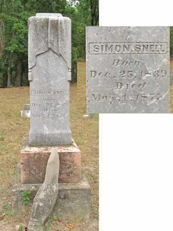 SNELL, SIMON - Delaware County, Oklahoma | SIMON SNELL - Oklahoma Gravestone Photos