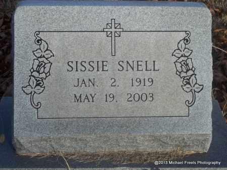 SNELL, SISSIE - Delaware County, Oklahoma | SISSIE SNELL - Oklahoma Gravestone Photos