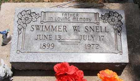 SNELL, SWIMMER W. - Delaware County, Oklahoma | SWIMMER W. SNELL - Oklahoma Gravestone Photos