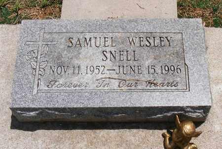 SNELL, SAMUEL WESLEY - Delaware County, Oklahoma | SAMUEL WESLEY SNELL - Oklahoma Gravestone Photos