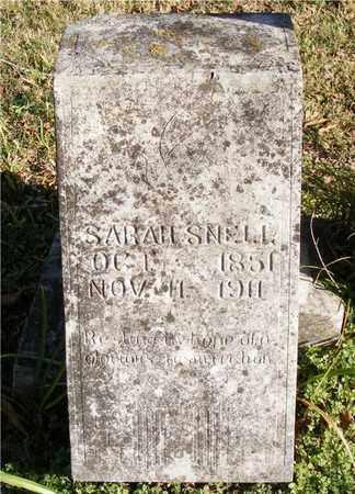 SNELL, SARAH - Delaware County, Oklahoma   SARAH SNELL - Oklahoma Gravestone Photos