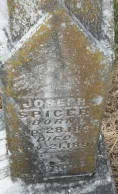 SPICER, JOSEPH - Delaware County, Oklahoma | JOSEPH SPICER - Oklahoma Gravestone Photos