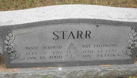 STARR, ROY FALLINGPOT - Delaware County, Oklahoma | ROY FALLINGPOT STARR - Oklahoma Gravestone Photos