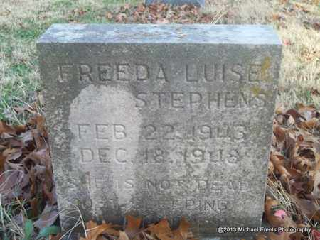 STEPHENS, FREEDA LUISE - Delaware County, Oklahoma | FREEDA LUISE STEPHENS - Oklahoma Gravestone Photos