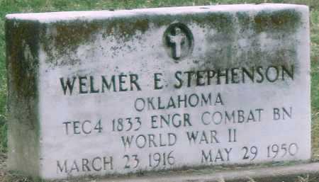 STEPHENSON (VETERAN WWII), WELMER E - Delaware County, Oklahoma | WELMER E STEPHENSON (VETERAN WWII) - Oklahoma Gravestone Photos