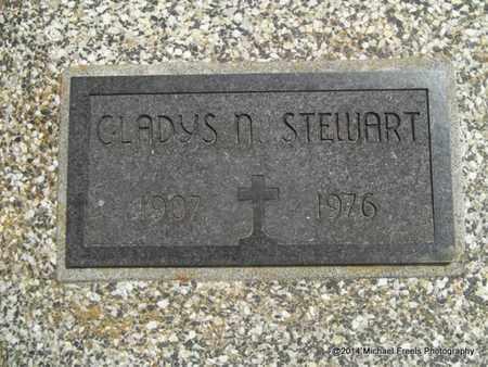 STEWART, GLADYS N. - Delaware County, Oklahoma | GLADYS N. STEWART - Oklahoma Gravestone Photos