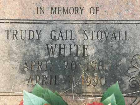 STOVALL STOVALL, TRUDY GAIL - Delaware County, Oklahoma   TRUDY GAIL STOVALL STOVALL - Oklahoma Gravestone Photos