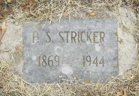 STRICKER, P. S. - Delaware County, Oklahoma | P. S. STRICKER - Oklahoma Gravestone Photos