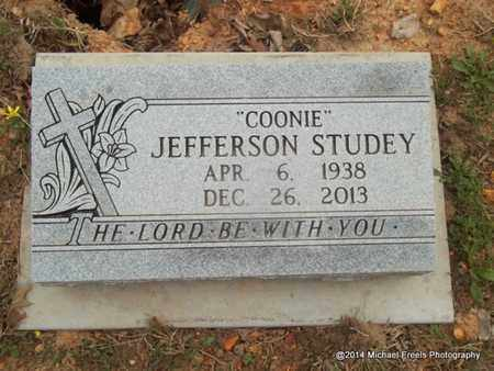 "STUDEY, JEFFERSON ""COONIE"" - Delaware County, Oklahoma 