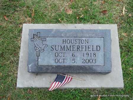 SUMMERFIELD, HOUSTON - Delaware County, Oklahoma | HOUSTON SUMMERFIELD - Oklahoma Gravestone Photos