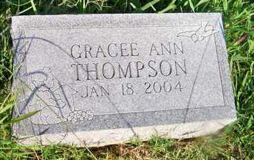 THOMPSON, GRACEE ANN - Delaware County, Oklahoma | GRACEE ANN THOMPSON - Oklahoma Gravestone Photos