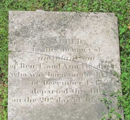 THOMPSON, INFANT SON - Delaware County, Oklahoma | INFANT SON THOMPSON - Oklahoma Gravestone Photos