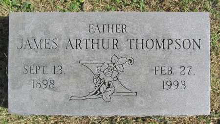 THOMPSON, JAMES ARTHUR - Delaware County, Oklahoma   JAMES ARTHUR THOMPSON - Oklahoma Gravestone Photos