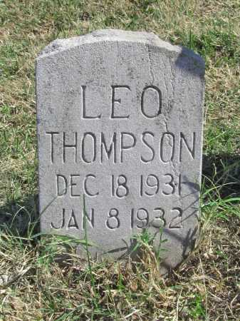 THOMPSON, LEO - Delaware County, Oklahoma | LEO THOMPSON - Oklahoma Gravestone Photos