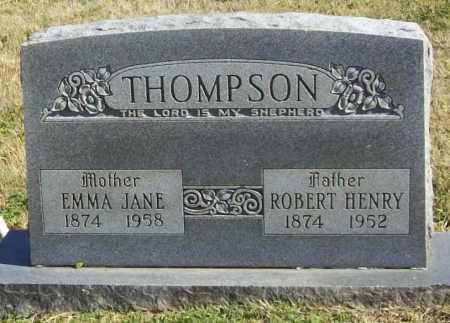 THOMPSON, EMMA JANE - Delaware County, Oklahoma | EMMA JANE THOMPSON - Oklahoma Gravestone Photos