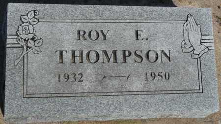 THOMPSON, ROY E - Delaware County, Oklahoma | ROY E THOMPSON - Oklahoma Gravestone Photos