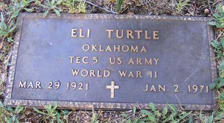TURTLE (VETERAN WWII), ELI - Delaware County, Oklahoma | ELI TURTLE (VETERAN WWII) - Oklahoma Gravestone Photos