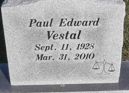 VESTAL, PAUL EDWARD - Delaware County, Oklahoma | PAUL EDWARD VESTAL - Oklahoma Gravestone Photos