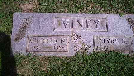 VINEY, MILDRED M - Delaware County, Oklahoma | MILDRED M VINEY - Oklahoma Gravestone Photos