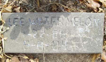 WATERMELON, LEE - Delaware County, Oklahoma | LEE WATERMELON - Oklahoma Gravestone Photos