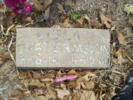 WATERMELON, VIOLA - Delaware County, Oklahoma | VIOLA WATERMELON - Oklahoma Gravestone Photos