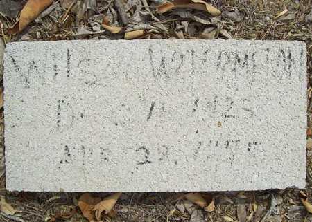 WATERMELON, WILSON - Delaware County, Oklahoma | WILSON WATERMELON - Oklahoma Gravestone Photos
