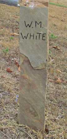WHITE, W M - Delaware County, Oklahoma | W M WHITE - Oklahoma Gravestone Photos