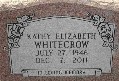 OLLIS WHITECROW, KATHY ELIZABETH - Delaware County, Oklahoma | KATHY ELIZABETH OLLIS WHITECROW - Oklahoma Gravestone Photos