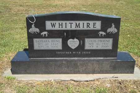 WHITMIRE, LOUIS DWAYNE - Delaware County, Oklahoma | LOUIS DWAYNE WHITMIRE - Oklahoma Gravestone Photos