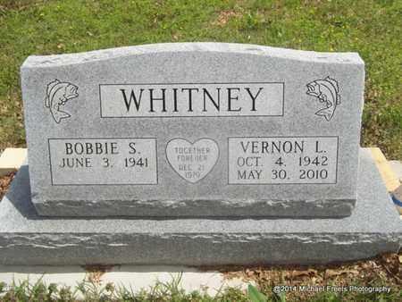 WHITNEY, VERNON L. - Delaware County, Oklahoma | VERNON L. WHITNEY - Oklahoma Gravestone Photos