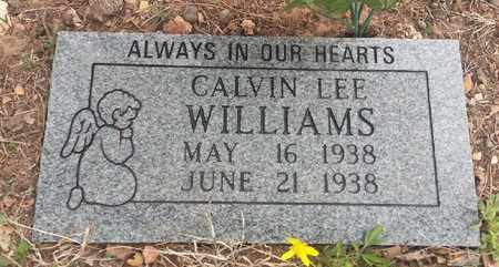 WILLIAMS, CALVIN LEE - Delaware County, Oklahoma | CALVIN LEE WILLIAMS - Oklahoma Gravestone Photos