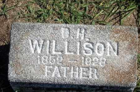 WILLISON, D H - Delaware County, Oklahoma | D H WILLISON - Oklahoma Gravestone Photos
