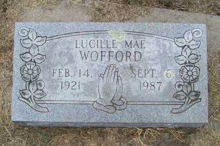 WOFFORD, LUCILLE MAE - Delaware County, Oklahoma | LUCILLE MAE WOFFORD - Oklahoma Gravestone Photos