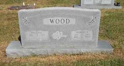 WOOD, ALBERT F - Delaware County, Oklahoma | ALBERT F WOOD - Oklahoma Gravestone Photos
