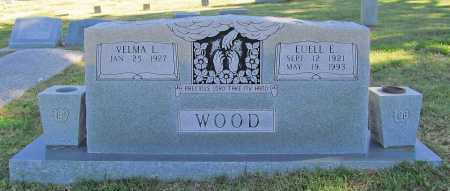 WOOD, EUELL E - Delaware County, Oklahoma | EUELL E WOOD - Oklahoma Gravestone Photos