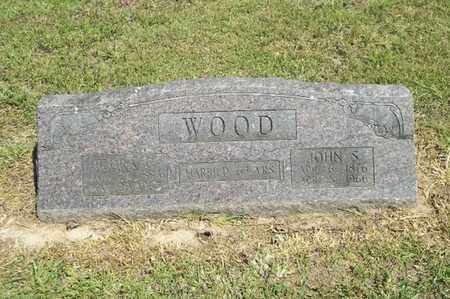 WOOD, JOHN S - Delaware County, Oklahoma | JOHN S WOOD - Oklahoma Gravestone Photos