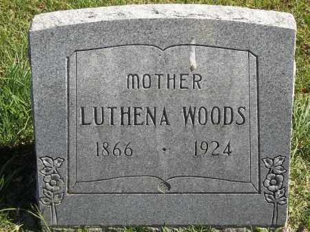 WOOD, LUTHENA - Delaware County, Oklahoma   LUTHENA WOOD - Oklahoma Gravestone Photos