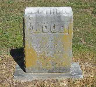 WOOD, M A - Delaware County, Oklahoma | M A WOOD - Oklahoma Gravestone Photos