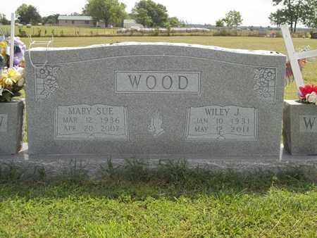 WOOD, WILEY J. - Delaware County, Oklahoma   WILEY J. WOOD - Oklahoma Gravestone Photos