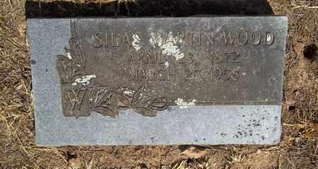 WOOD, SILAS MARTIN - Delaware County, Oklahoma | SILAS MARTIN WOOD - Oklahoma Gravestone Photos