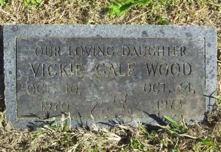 WOOD, VICKIE GALE - Delaware County, Oklahoma | VICKIE GALE WOOD - Oklahoma Gravestone Photos