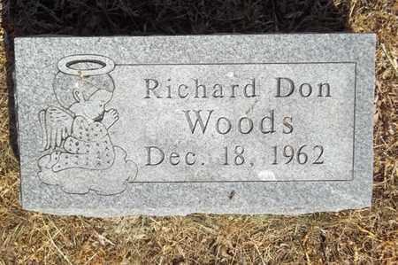 WOODS, RICHARD DON - Delaware County, Oklahoma | RICHARD DON WOODS - Oklahoma Gravestone Photos