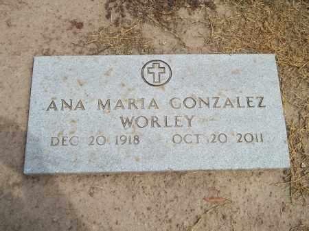 WORLEY, ANA MARIA - Delaware County, Oklahoma | ANA MARIA WORLEY - Oklahoma Gravestone Photos