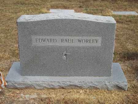 WORLEY, EDWARD RAUL - Delaware County, Oklahoma | EDWARD RAUL WORLEY - Oklahoma Gravestone Photos