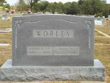 WORLEY, MARY A - Delaware County, Oklahoma | MARY A WORLEY - Oklahoma Gravestone Photos