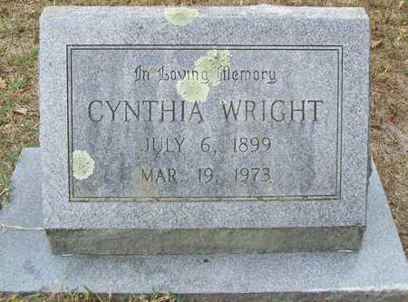 WRIGHT, CYNTHIA - Delaware County, Oklahoma | CYNTHIA WRIGHT - Oklahoma Gravestone Photos